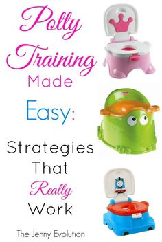 Potty Training Made Easy: Strategies that Really Work   The Jenny Evolution