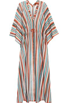 Missoni | Striped crochet-knit kaftan