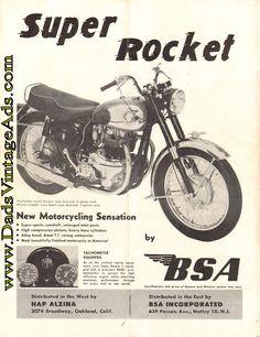 BSA helmet//motorcycle sticker Gold Star sticker also A7 650Lightning Rocket