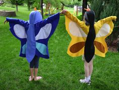ikat bag: Bug Party  Butterfly costume