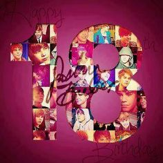 It's Justin's 18th birthday today!