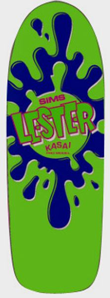 Brand: Sims  Pro model: Lester Kasai  Size: 7in x 26in