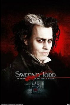 "FLM00099"" Sweeney Todd - Movie"" (24 X 36)"