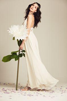 Introducing Mariée, Calypso St. Barth's bridal collection for the bohemian bride. Sasina Cotton Crochet Dress