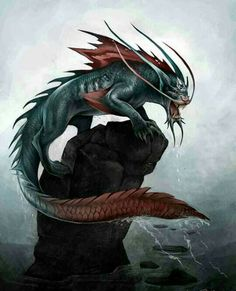 Water panthers are creatures from Native American mythology. Fantasy, Sea Creatures, Alien Creatures, Mythical Creatures, Mythical, Art, Native American Mythology, Fantasy Monster, Monster Art