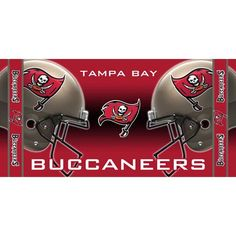 Tampa Bay Buccaneers NFL Beach Towel