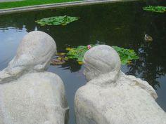 The sculpture of washerwomen in Planty Park in Białystok, near Adam Mickiewicz street. #Białystok #Podlasie #sculpture #praczki