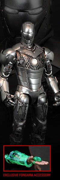 Iron Man Mark II - Armor Unleashed Version 12-inch Figure - Iron Man 2 - Sideshow Exclusive Version