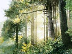 Abe Toshiyuki Watercolor