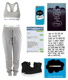 """""""TFIOS"""" by elainia on Polyvore featuring Casetify, Calvin Klein and Supra"""