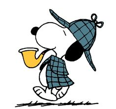 Snoopy as the World Famous Detective