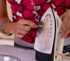 How to Clean an Iron with Baking Soda and Vinegar # Natural Nontoxic Green Cleaning