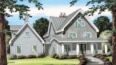 House Plan 24968 | Country   Farmhouse  Southern    Plan with 2877 Sq. Ft., 4 Bedrooms, 3 Bathrooms, 2 Car Garage