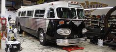 crown bus conversions | Skoolie.net • View topic - Jay Leno's Conversion Bus (1961 Flxible)