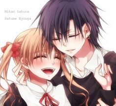 Mikan y Natsume - Gakuen Alice These two hurt my heart <3333 T^T