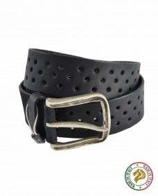 Cinturones de Piel Alpha Noir  Alpha Noir - Moda Masculina
