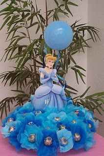 Cinderella Theme Party with a beautiful and original decoration - Celebrat : Home of Celebration, Events to Celebrate, Wishes, Gifts ideas and more ! Cinderella Theme, Cinderella Birthday, Princess Birthday, Party Centerpieces, Birthday Party Decorations, Party Themes, Birthday Parties, Party Ideas, Princess Theme Party