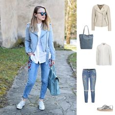 Street style for spring time.