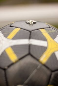 Soccer Ball Ring Shot- sooo cute