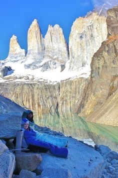Backpacking in Torres del Paine, thanks to Joseph B. on REI 1440 Project.