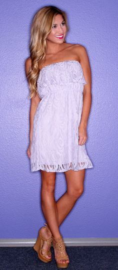 To Have & To Hold Lace Lilac - $38.00