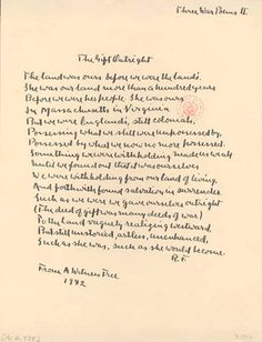 'The Gift Outright' Poem read by Robert Frost at the 1961 inauguration of John F. Kennedy.