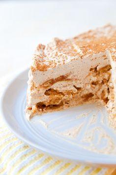 Iced Chai Latte Icebox Cake