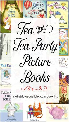 Sweet and Delectable Children's Books about Teatime