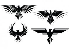 eagle-tattoos-with-spread-wings_279-12039.jpg (626×448)