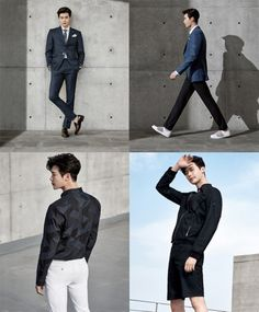 Lee Jong Suk looks stylish in a dress suit for 'SIEG FAHERNHEIT' | allkpop.com