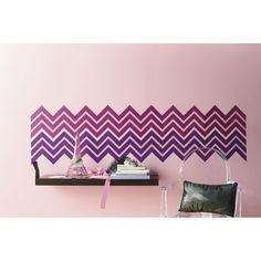 Xhilaration® Chevron Glitter Wall Decal