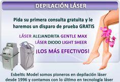 Nuestras ofertas de depilación láser