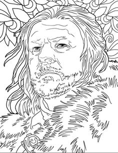 Hold The Pencil To Color These Amazing Pictures Of Game Thrones Heroes