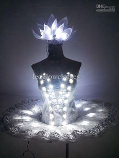 Sexy Ladies Costumes Tutus Sweetheart Ballet Skirt Light Up Womens Cosplay Dresses Fashion LED Stage Wear Shining Decoration Customized 057 Online with $454.94/Piece on Ledglowclothes's Store   DHgate.com