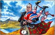 Salmond plays Cameron like an old set of pipes!