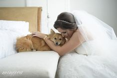 Just a bride and her dog natasha + nick Photography Services, Lifestyle Photography, Wedding Photography, Outdoor Waterfalls, Cruise Wedding, Coral Gables, Wedding Film, Outdoor Ceremony, Fort Lauderdale