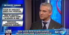 """Dem Aide Ron Klain Named #Ebola Coordinator.  What are your thoughts on this? Watch report: http://video.foxnews.com/v/3845844888001  """"Like"""" and Share! #EbolaOutbreak #CDC #healthcare"""