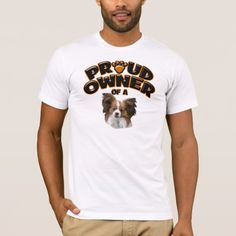 Proud Owner of a Papillon T-Shirt   funny rottweiler, rottweiler painting, rottweiler drawing #rottweilermix #rottweilerfamily #rottweilervideos Rottweiler Puppies, Drawing, Funny, Dogs, Mens Tops, T Shirt, Painting, Shopping, Tee