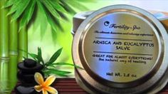 Arnica and Eucalyptus Salve 1.5 oz- Buy it Now!