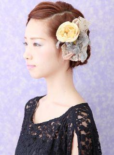 ノーブルな編み込みアレンジ 【aile 西大寺】 http://beautynavi.woman.excite.co.jp/salon/26767 ≪arrange・hairstyle・アレンジ・ヘアスタイル・髪形・髪型≫