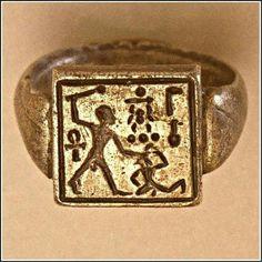 Gold Ring of Pharaoh Amenhotep II.