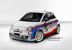 ABARTH 695 Tributo Martini Racing by Alessandro Masera, via Flickr