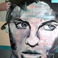 3 am ... #art #night #artist #stuttgart #woman #mouth #black #girl #street #artshow #streetart #artist_community #arts_help #canvas #artist_features #featuring_artwork #portrait #tacart #painting #acrylic #graphite  #white #detail #cold #artistic_share #creative_instaarts #art_spotlight #eyes #colours #bestartfeatures