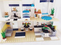 Awesome Modern Lego House Interior Part 24