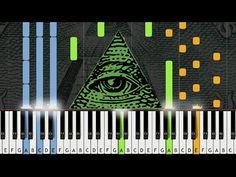 X-Files Theme (Illuminati Song) - Piano Cover w/ Sheet Music / MIDI (Synthesia) - http://blog.pianoforbeginners.net/uncategorized/x-files-theme-illuminati-song-piano-cover-w-sheet-music-midi-synthesia/