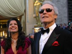 Clint Eastwood one of the finest actors, directors, and producers ever! (Despite his performance at the Republican National Convention) Clint Eastwood, Hollywood Icons, Hollywood Celebrities, Hollywood Style, Oncle Sam, Francesca Eastwood, Les Oscars, Frances Fisher, Sergio Leone