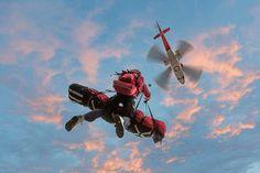 Another cool Life Flight photo. Flight nurse-Judi, paramedic - Troy (hanging around), Denny-pilot.
