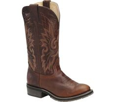 womens cowboy boots brown