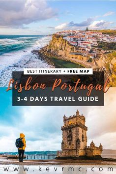 How to plan your visit in Lisbon? Today I'll share with you the best Lisbon Itinerary for 2 or 3 days in Lisbon, to help you plan your visit + free maps Visit Portugal, Portugal Travel, Spain And Portugal, Cool Places To Visit, Places To Travel, Travel Destinations, European Road Trip, European Travel, Travel Tips For Europe