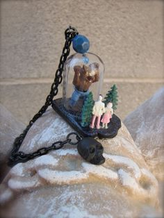 Honey Look at The Werewolf Necklace by StarfishStratagies on Etsy, $30.00